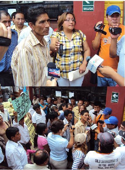 Padres y autoridades de Cárac ponen en apuros a Director de Ugel N° 10 de Huaral