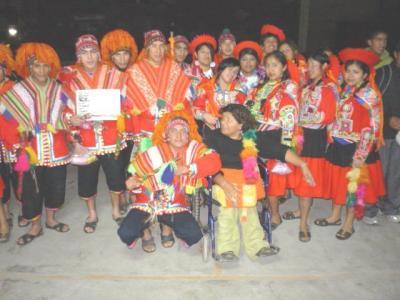 CEBA Nº 34 de Chancay campeón regional de danzas folclóricas 2009