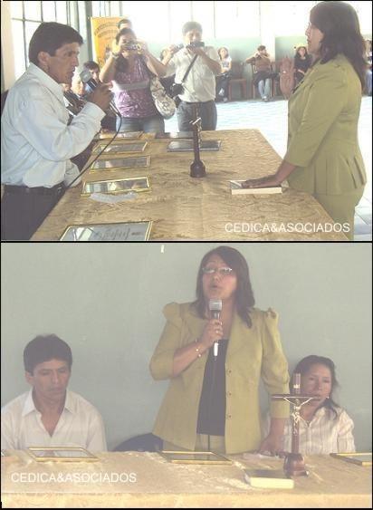 """Juramentó alcaldesa y regidores de """"Veintisiete de Noviembre"""""""