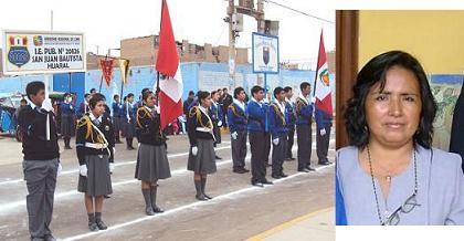 "I. E. N° 20826 ""San Juan Bautista"" de Huaral celebra aniversario"