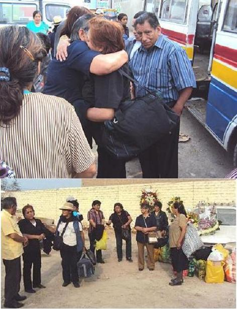 Pirqueños residentes en Huaral rindieron homenaje póstumo a Aquiles Lino