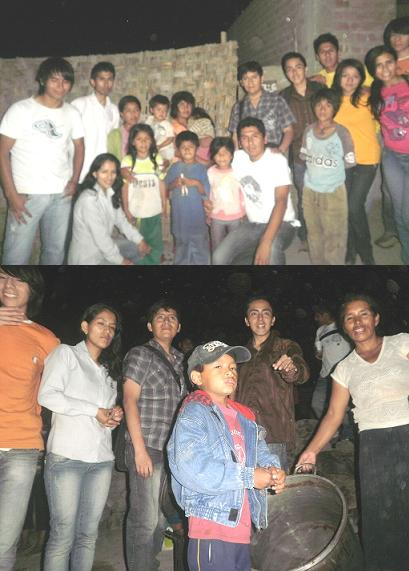 """Jóvenes estudiantes de AFODEC organizaron chocolatada en """"Nuevo Huaral"""""""